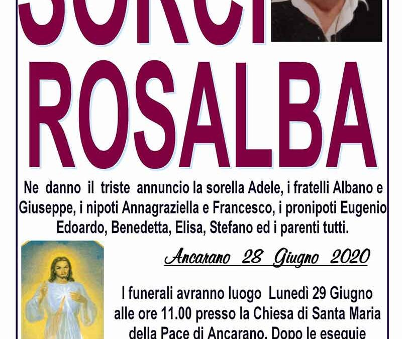 Sorci Rosalba